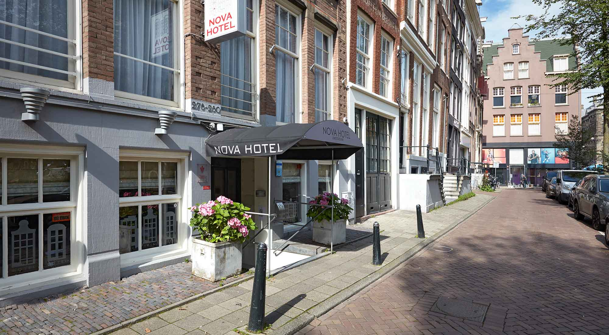 Nova hotel apartments 3 sterren hotel en accommodatie for Amsterdam hotel